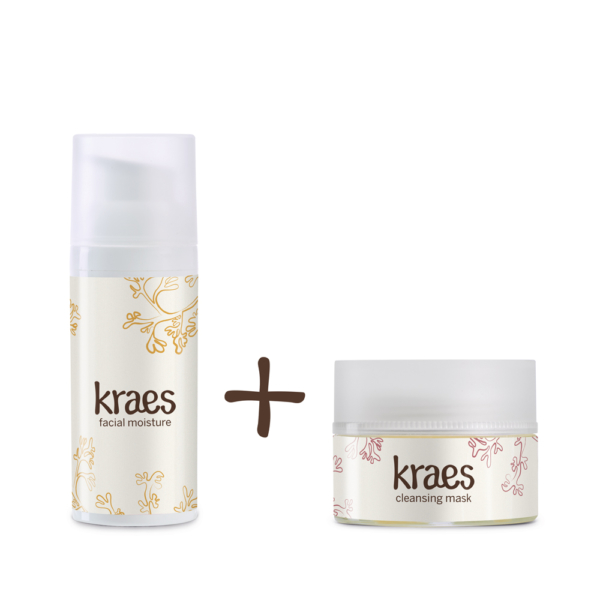 K Facial Moisture & Cleansing Mask