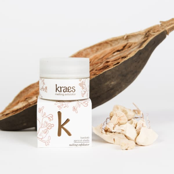 KRAES melting exfoliator